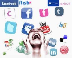 lixo redes sociais